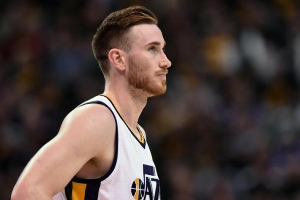 The Jazz look to stay afloat in the Western Conference after losing Gordon Hayward in free agency. Photo: Gene Sweeney Jr./Getty Images