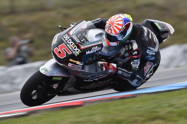 Zarco in action at Brno - www.ajo.fi