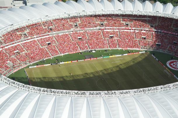 Beira-Rio foi reformado em 2014, se tornando um dos estádios mais modernos do mundo (Foto: divulgação / SC Internacional)