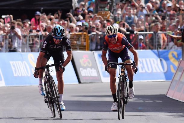 Nibali se impuso a Landa en la 16ª etapa del Giro | Fotografía: Giro de Italia