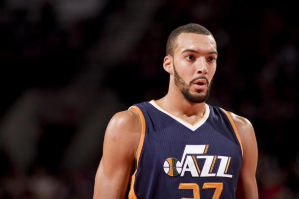 After not winning the Defensive Player of the Year award last year, Rudy Gobert looks to win this year. Photo: Tony Dejak/Associated Press