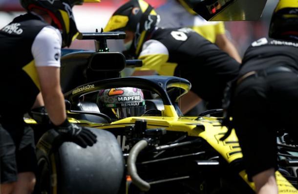 Daniel Ricciardo (Renault) en los FP3. Fuente: F1
