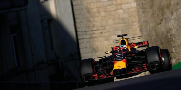 Ricciardo en el Baku 2017 / Fuente: Daniel Ricciardo
