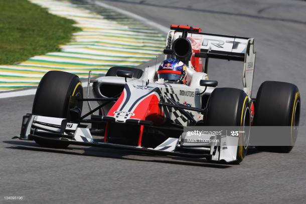 Ricciardo en el GP de Brasil en 2011 / Fuente: Getty Images