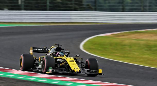 Ricciardo en Suzuka 2019 / Fuente: Daniel Ricciardo