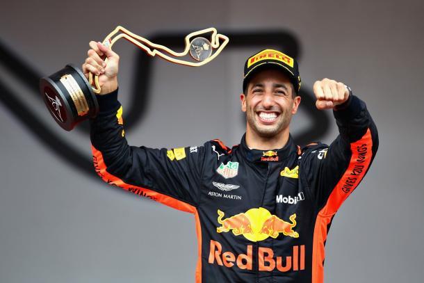 Ricciardo tras su victoria en el GP Mónaco 2018 / Fuente: Daniel Ricciardo