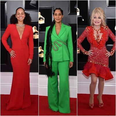 Alicia Keys, Dolly Parton y Tracee Ellis Ross | Foto: Getty Images