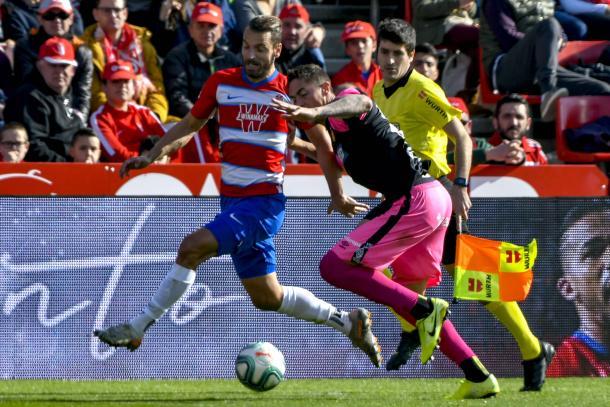 Soldado durante el partido contra el Mallorca   Foto: Jesús Jiménez / Photographer Sports