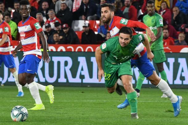 Fede Vico reapareció tras su lesión | Foto: Jesús Jiménez / Photographers Sports