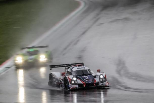 Vitória de ponta a ponta do Ligier JS P3 da equipe United Autosports. (Foto: ELMS)