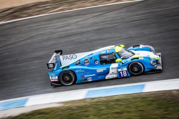 Vitória da M. Racing -YMR na classe LMP3. (Foto: AdrenalMedia)