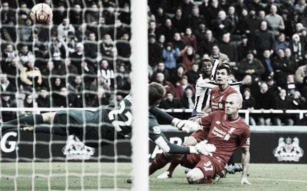 Wijnaldum nets the opening goal for Newcastle United