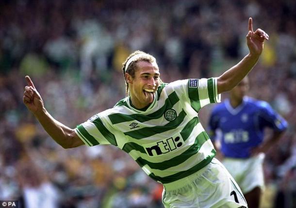 En el Celtic, aún con larga cabellera (foto:thecelticwiki)