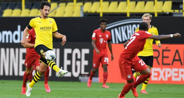 Hummels no Der Klassiker (Foto: Reprodução / Borussia Dortmund)