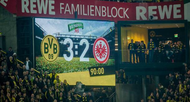 El Dortmund ha convertido en una fortaleza su casa| Foto: bvb.com