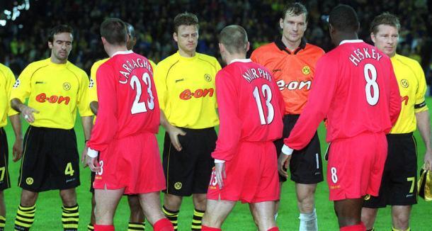 La plantilla del Dortmund, integrada por grandes jugadores (Foto: BVB.de)