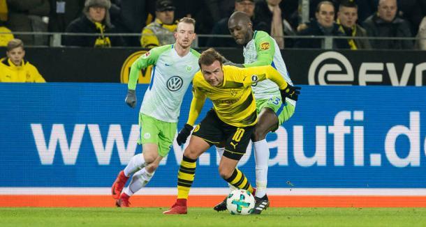Partida fraca na primeira etapa (Reprodução/Borussia Dortmund)