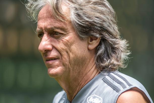 Jorge Jesús, director técnico del Flamengo / Foto: Twitter oficial Copa Libertadores