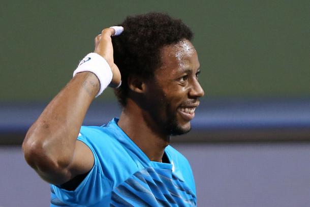 Monfils at the Shanghai Rolex Masters (Photo by Zhong Zhi/Getty Images)