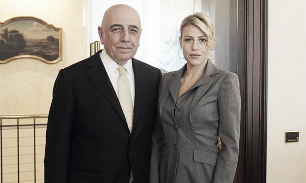 Galliani e Barbara eram os CEOs do Milan antes da chegada dos chineses (Foto: Divulgação/Milan)
