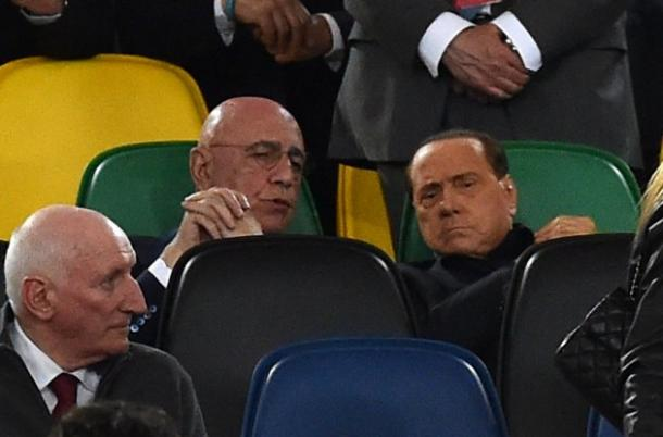 Silvio Berlusconi ed Adriano Galliani, Getty Images