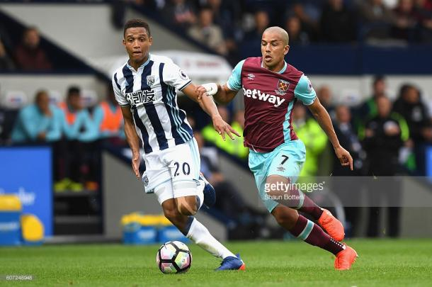 Galloway in action for the Baggies. | Photo: Getty Images -Shaun Botterill