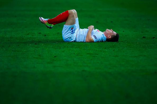 Gameiro no jugará la Eurocopa a pesar de su gran año en Sevilla. // Foto: Getty Images