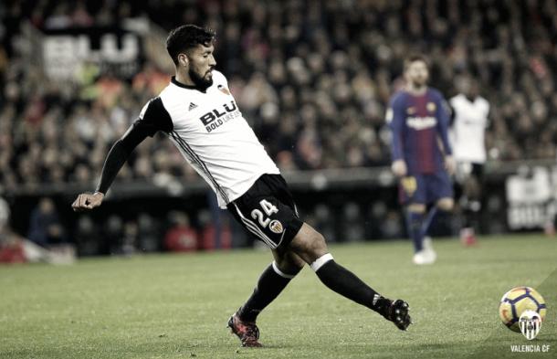 Garay, jugador del Valencia | Foto: valenciacf.com