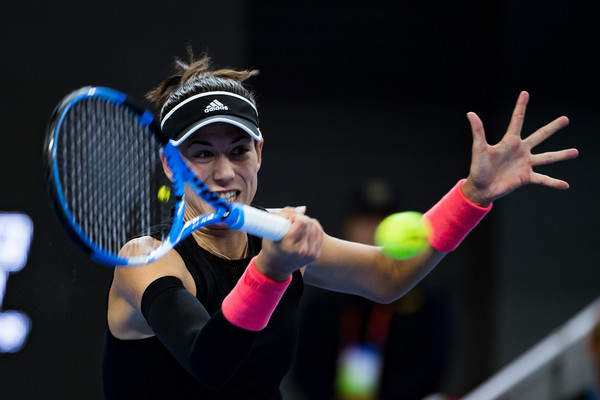 Garbine Muguruza won the first set having saved a set point in the process | Photo: Getty Images AsiaPac