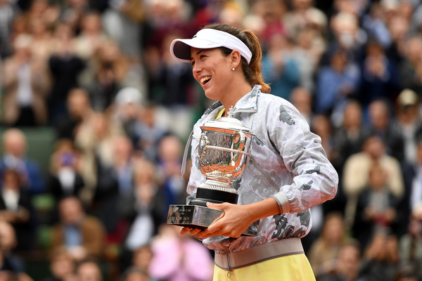 Garbine Muguruza failed to live up to expectations after her triumph in Paris | Photo: Dennis Grombkowski/Getty Images Europe