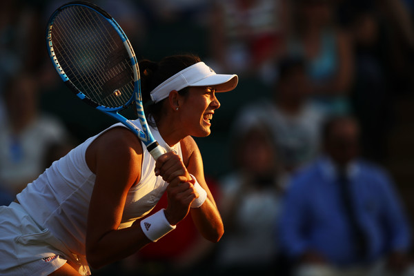 Muguruza was in control of the match until she lost her focus from the second game in the second set onwards | Photo: Clive Mason/Getty Images Europe