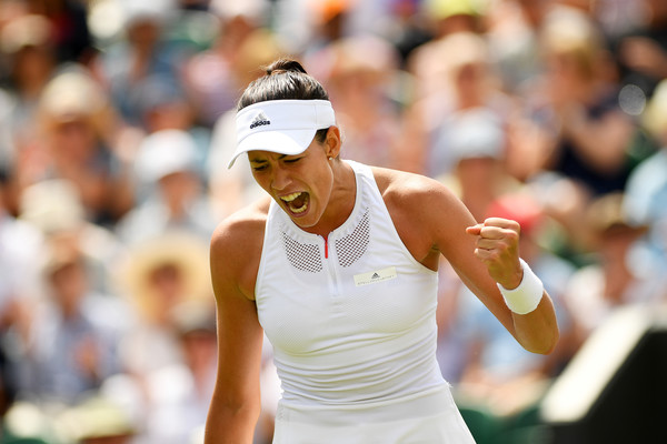 Garbine Muguruza's fighting spirit was able to get her through this tough match | Photo: Shaun Botterill/Getty Images Europe