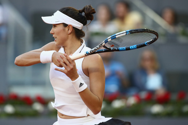 Garbine Muguruza in Madrid last year | Photo: Julian Finney/Getty Images Europe