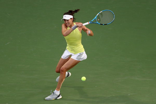 Muguruza comfortably took the first set after grabbing the only break | Photo: Francois Nel/Getty Images Europe