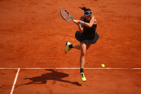 Garbine Muguruza put in an outstanding performance today | Photo: Cameron Spencer/Getty Images Europe