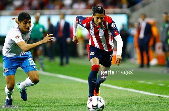 Jesús García ante Chivas | Foto: Getty Images