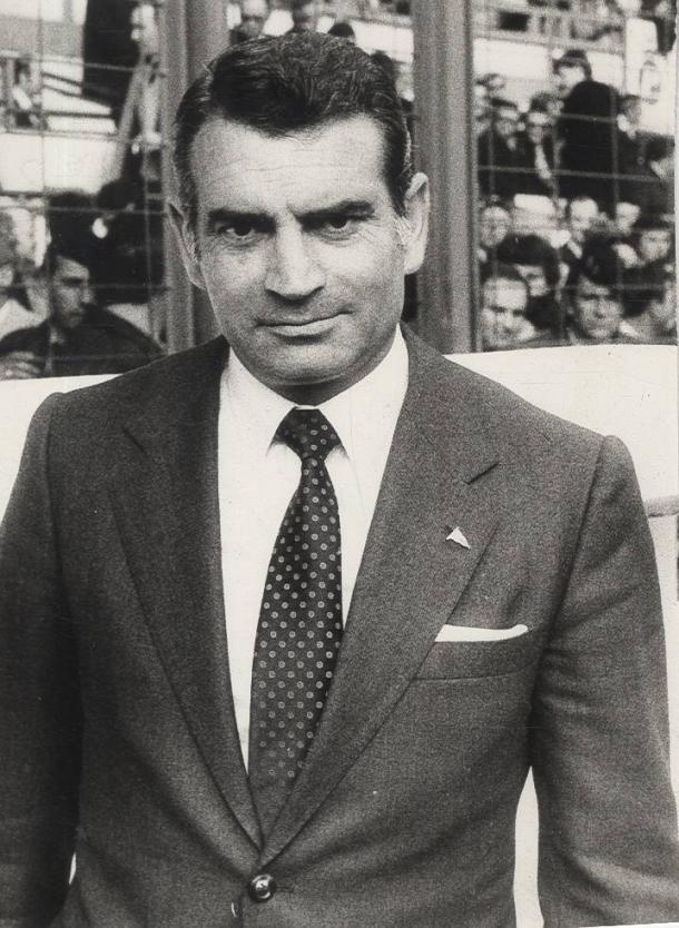 García de Andoín, en su etapa al frente del Alavés. | Foto: Desconocido