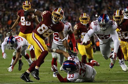 Pierre Garcon's time in Washington could be coming to an end | Source: Patrick Smith - Getty Images
