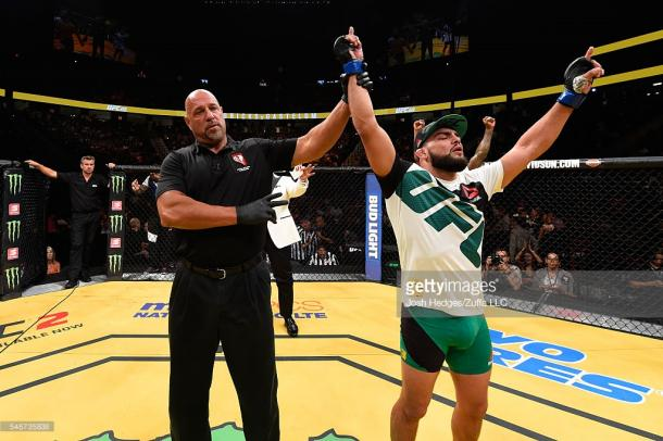 Gastelum (R) is coming off a win at UFC 200 | Photo: Getty/JoshHedges/ZuffaLLC