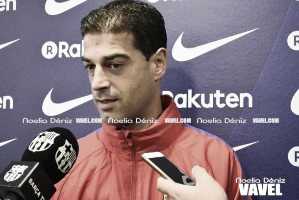 Gerard López atendió a los medios antes del crucial partido ante el Cádiz.   Foto: Noelia Déniz, VAVEL