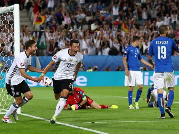 La gioia di Ozil ad Euro 2016, contattonews.it