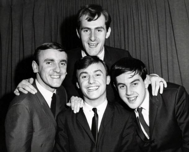 Gerry & The Pacemakers en 1964 (PD).