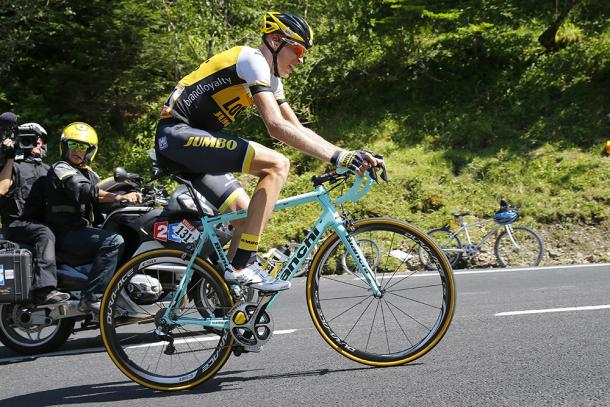 Gesink rode well last year at the Tour and will hope do so again this year / Road Cycling