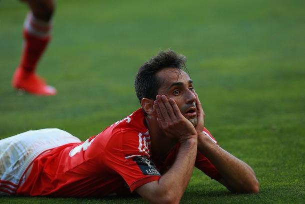 Jonas dedicou o golo a Toto Salvio | Foto: slbenfica.pt
