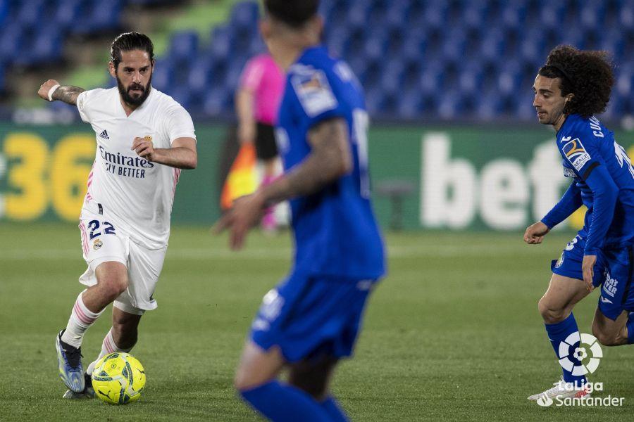 Getafe vs Real Madrid // Fuente: LaLiga