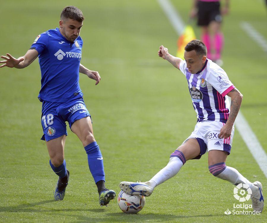 Getafe vs Valladolid, jornada 26 de LaLiga // Fuente: LaLiga