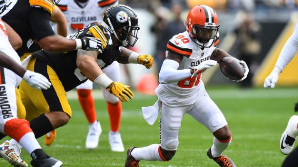 The Browns tried to say in the game for as long as they could | Source:  Justin Berl-Getty Images