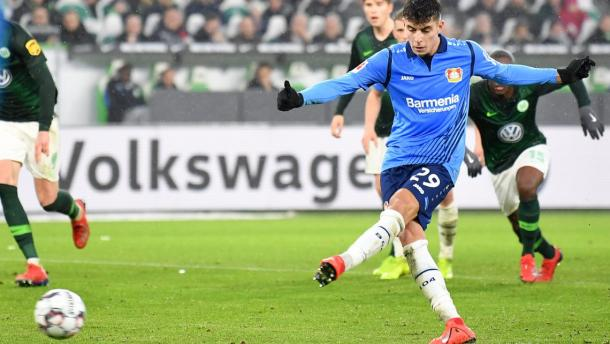 (Wolfsburg 0-3 B. Leverkusen | Foto: Getty Images)