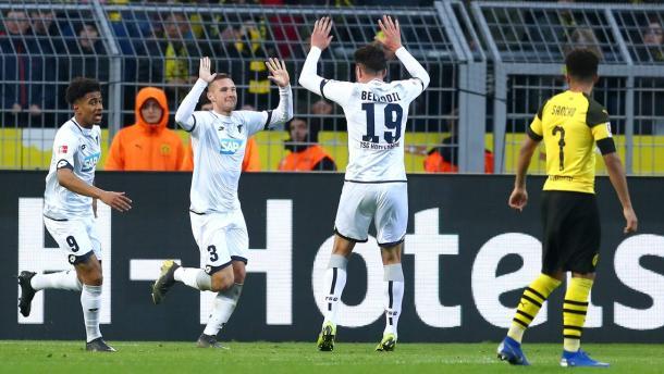 (B. Dortmund 3-3 Hoffenheim   Foto: Getty Images)