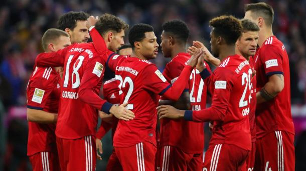 (B. Munich 4-1 Stuttgart | Foto: Getty Images)